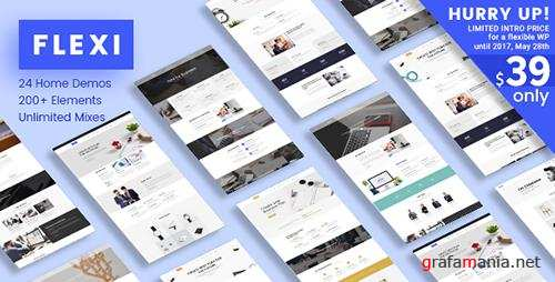 ThemeForest - Flexi WP v2.2 - Flexible Responsive Multipurpose Theme - 19676844