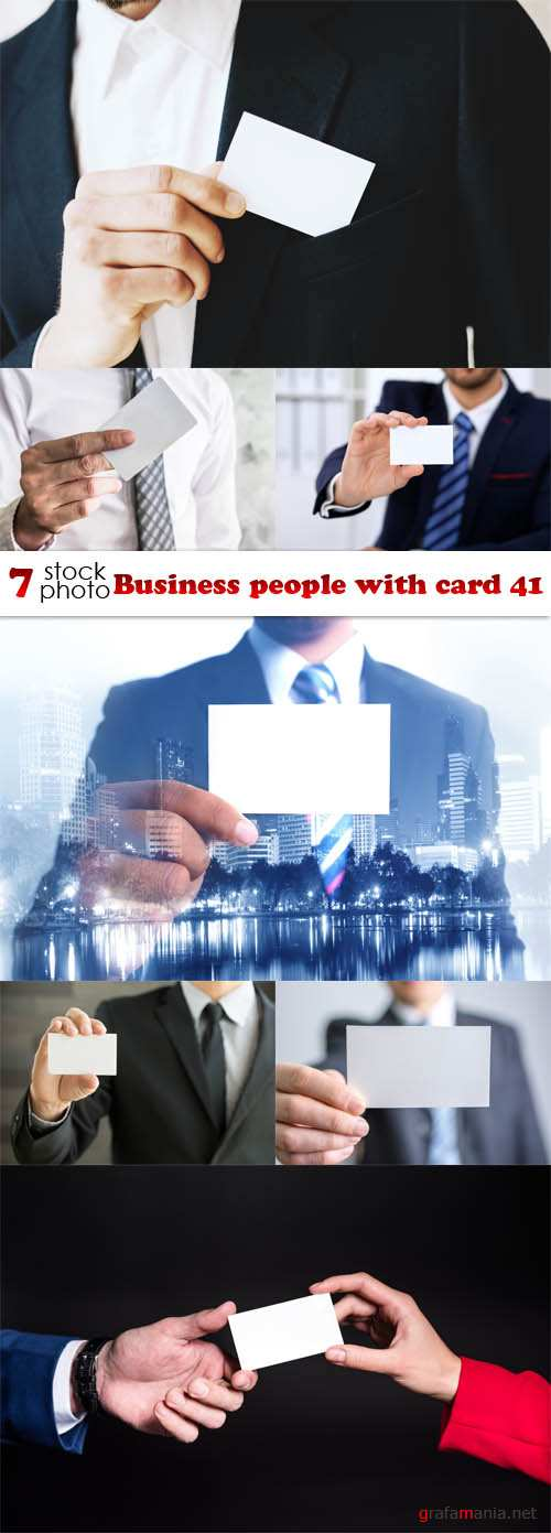 Photos - Business people with card 41