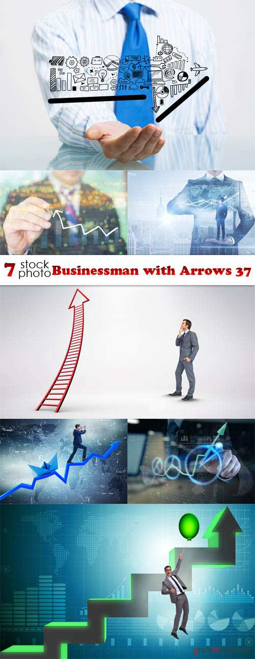 Photos - Businessman with Arrows 37