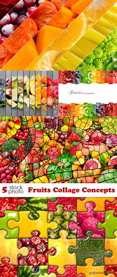 Photos - Fruits Collage Concepts