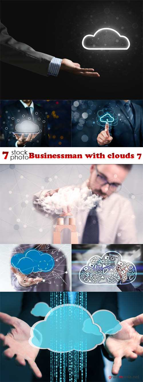 Photos - Businessman with clouds 7