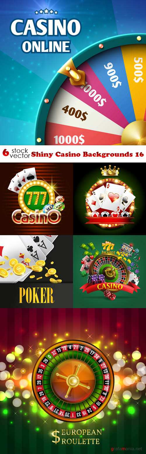 Vectors - Shiny Casino Backgrounds 16