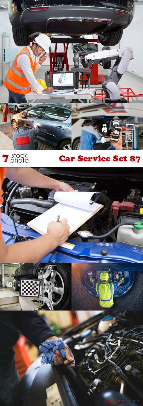 Photos - Car Service Set 87