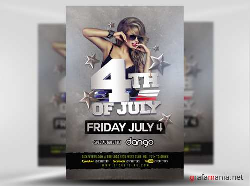 Flyer Template - 4TH of July