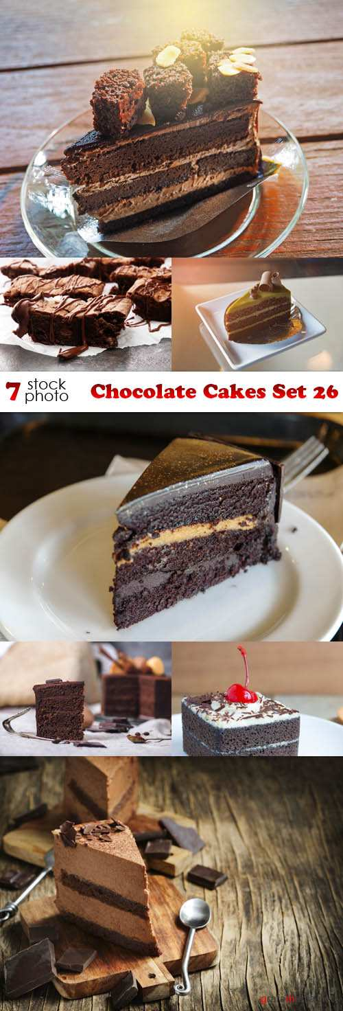 Photos - Chocolate Cakes Set 26