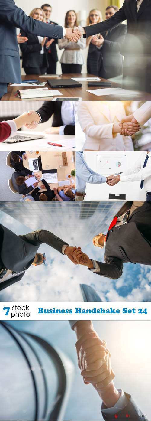 Photos - Business Handshake Set 24