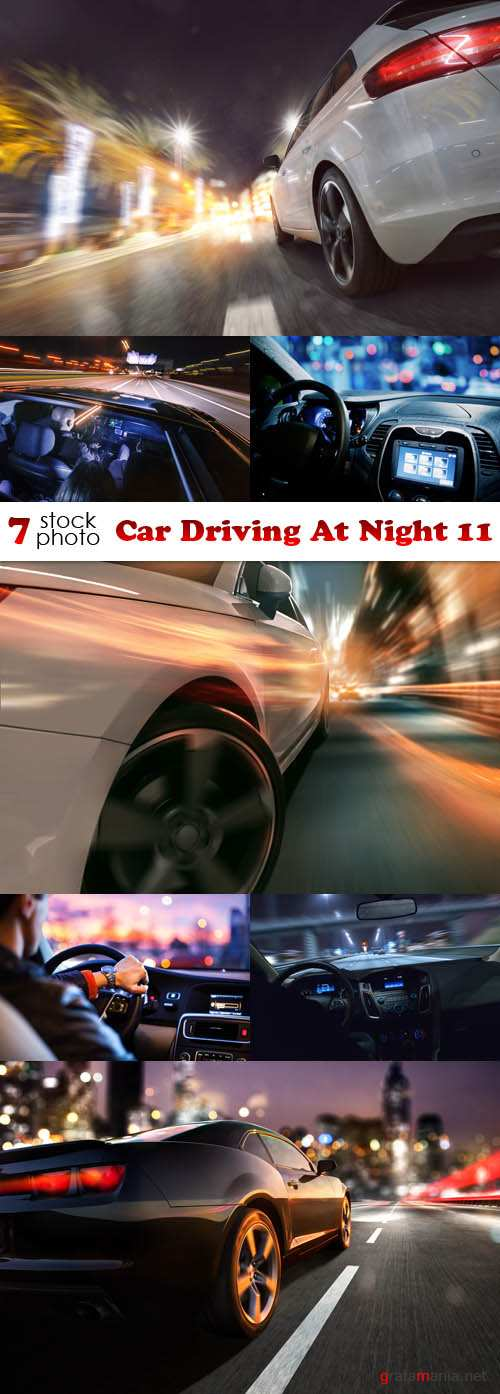 Photos - Car Driving At Night 11