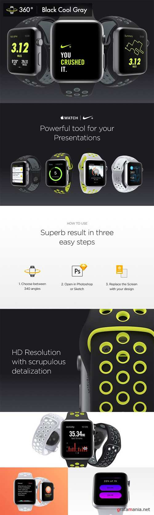 340 Apple Watch Cool Gray Mockups 1543397