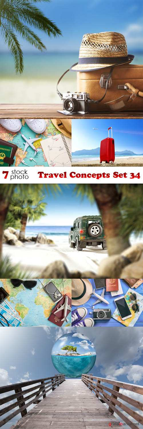 Photos - Travel Concepts Set 34