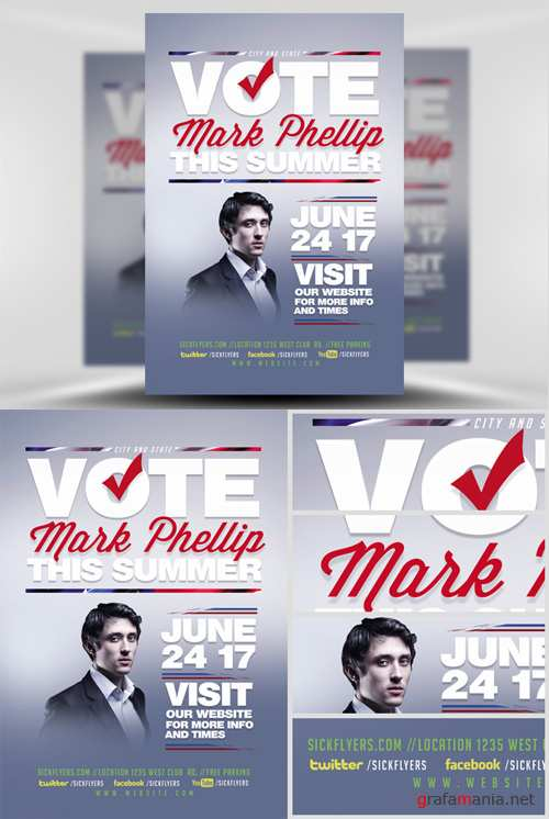 Flyer Template - Political V2
