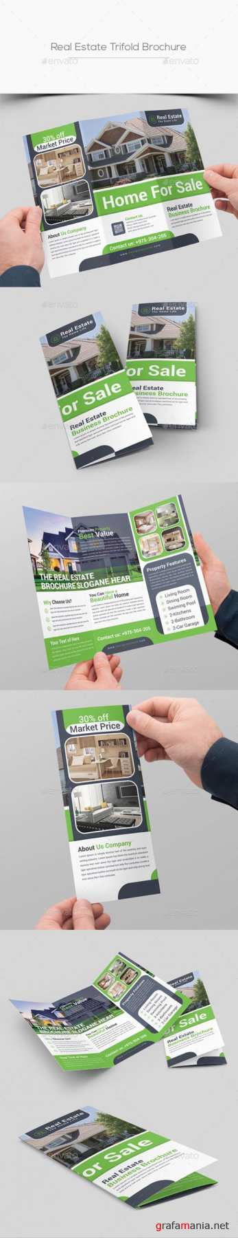 Real Estate Trifold Brochure 20175499