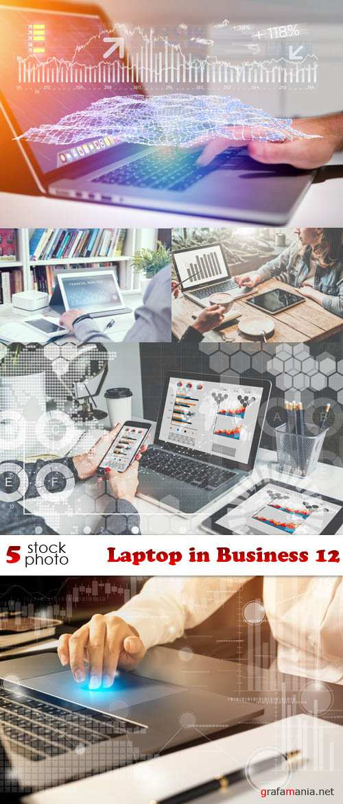 Photos - Laptop in Business 12