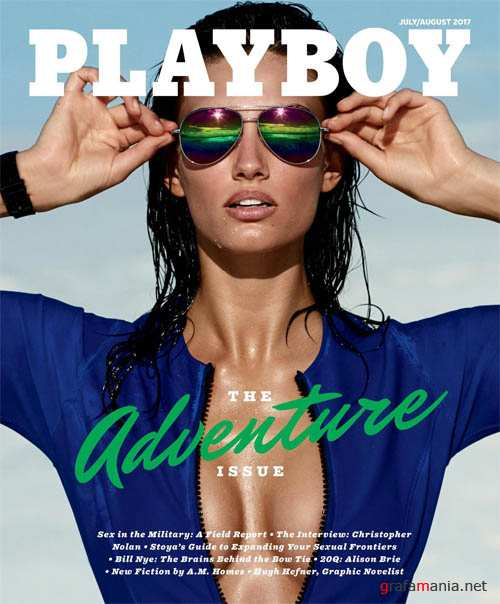 Playboy USA - July August 2017