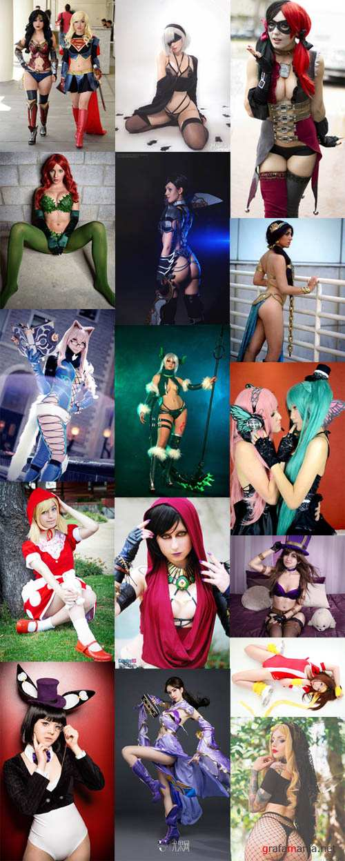 Amazing Cosplay Girls Mega Pack (No Nudes)