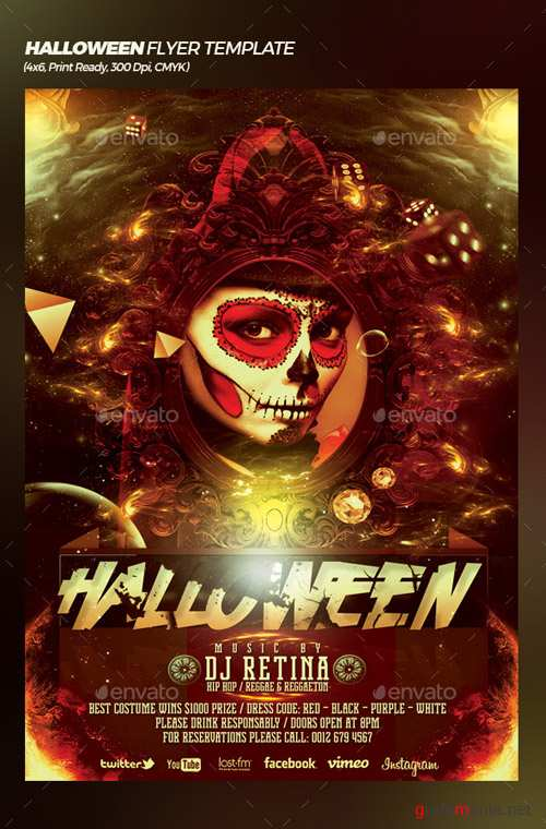 Halloween Bash Flyer / Poster Template 20773576