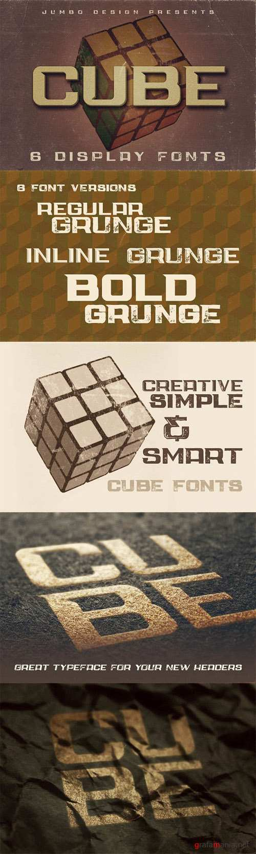 Cube - Display Font 1487176