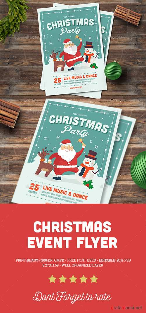 Christmas Event Flyer 18979133