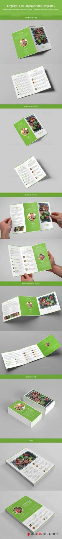Organic Food – Bundle Print Templates 20801043