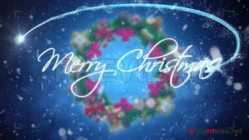 Merry Christmas Motion Graphic