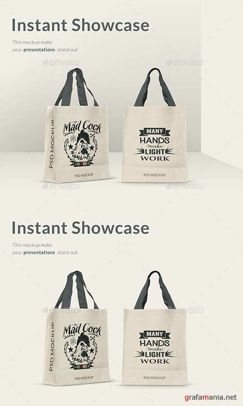 Shopping Bag Mockup 20956953