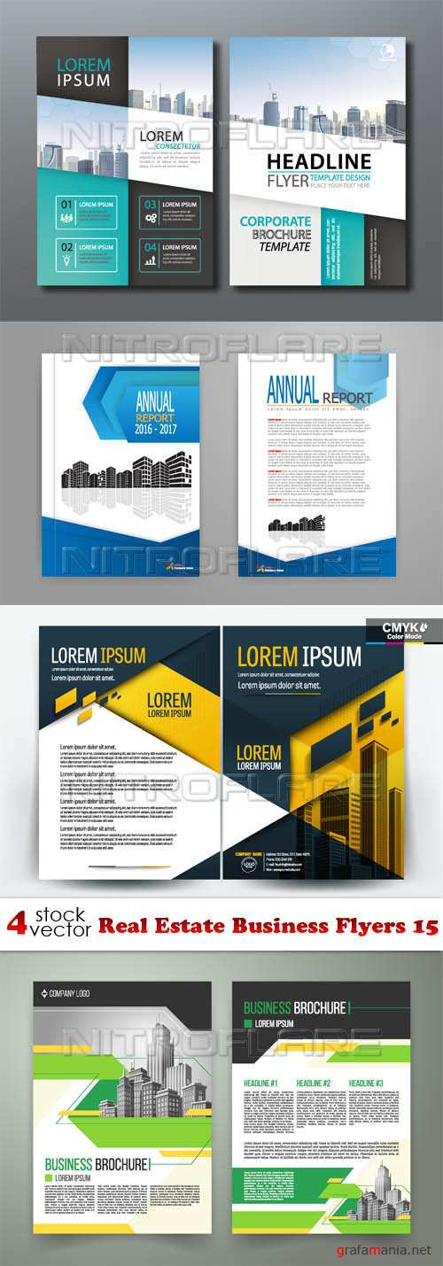 Vectors - Real Estate Business Flyers 15