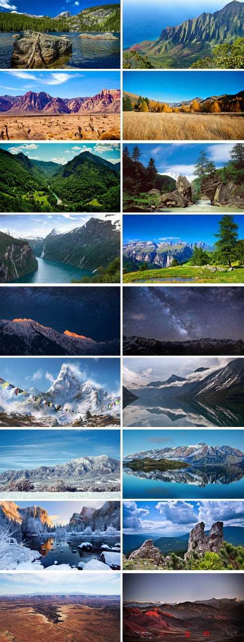 Mountain Photo Landscapes p.4
