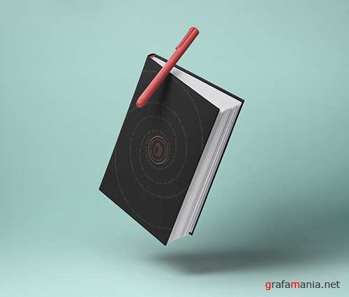 Gravity Book Mockup Hardcover 2