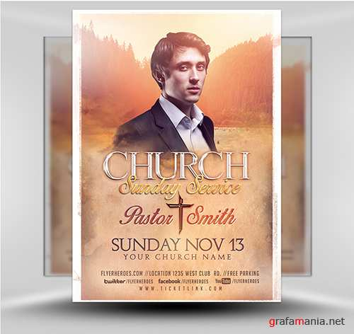 PSD Church Flyer v1