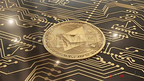 Gold Cryptocurrency Ethereum In Circuits