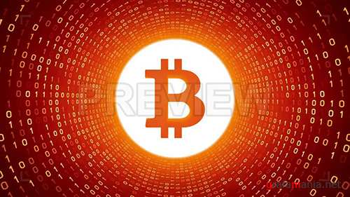 MA - Bitcoin In Orange Binary Tunnel