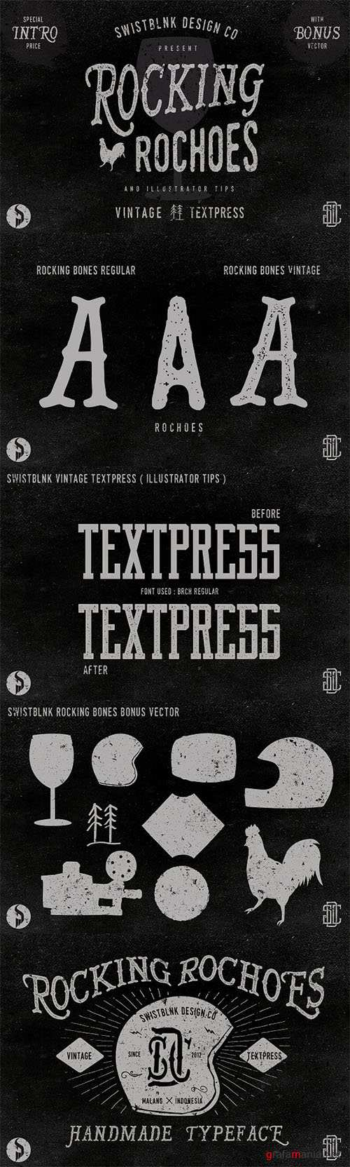 Rocking Rochoes Typeface 51254