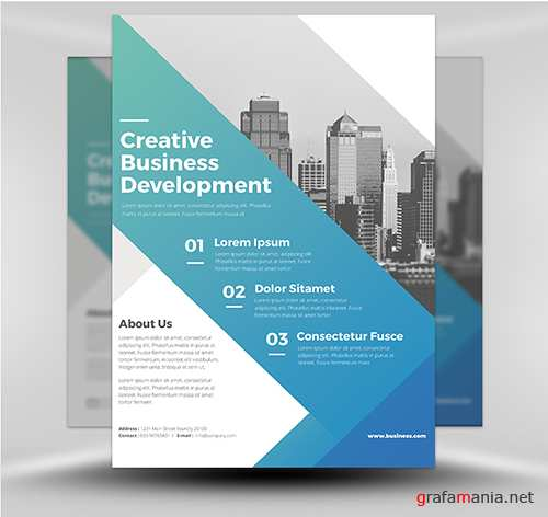 PSD - Corporate Flyer Template v5