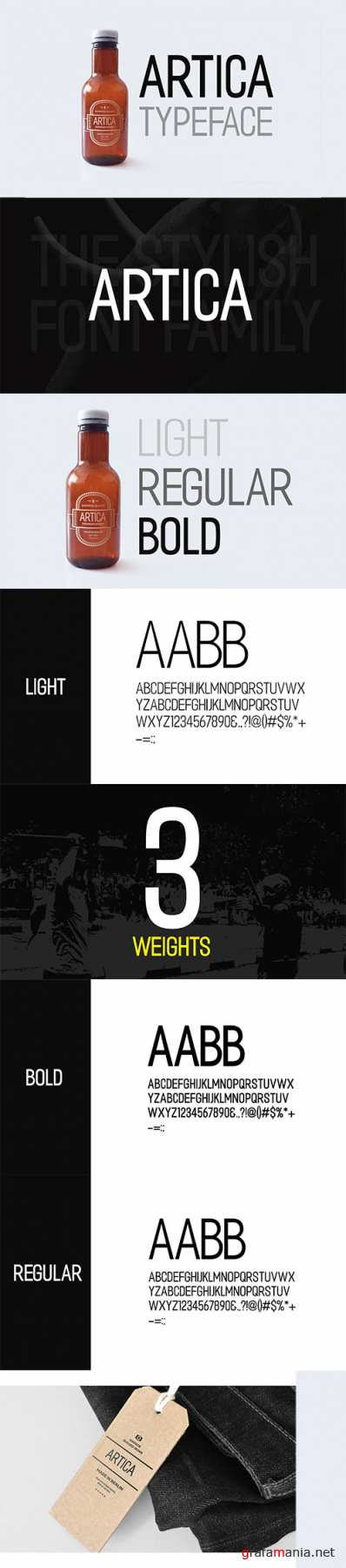 ARTICA - Display Typeface + Web Font 2313149