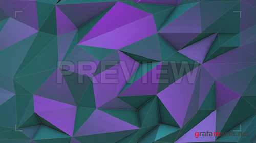 MA - Turquoise-violet Low Poly Background 67772
