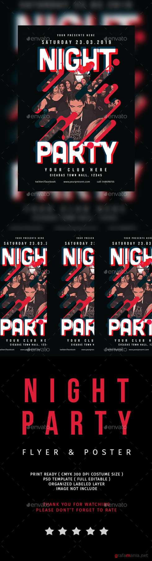 Night Party Flyer Vol.2 21618308