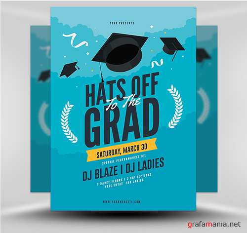 PSD - Graduation Party Template v1