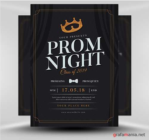 PSD - Prom Night Flyer Template v1