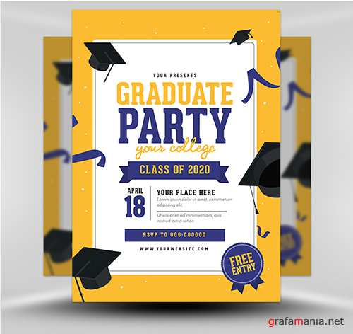 PSD - Graduation Party v2