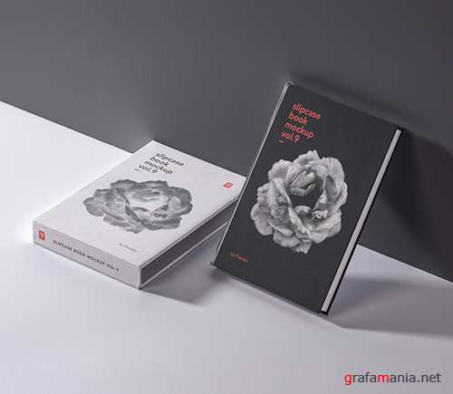 Slipcase Book Mockup Vol 9
