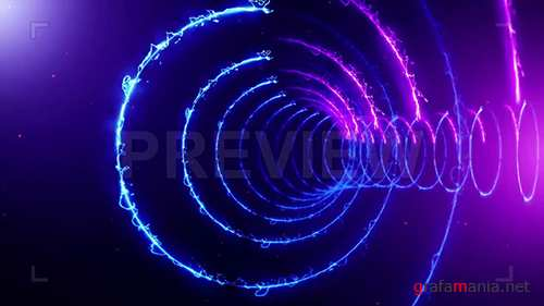MA - Circle VJ Background Lights 73837