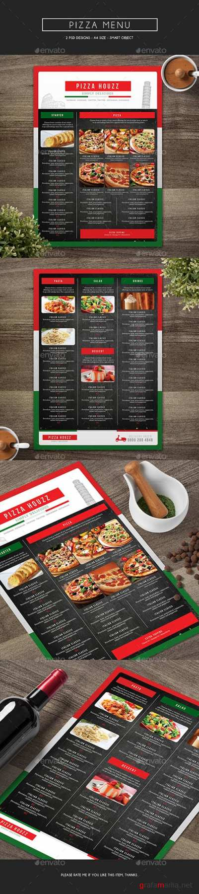 GR - Pizza Menu 14952587