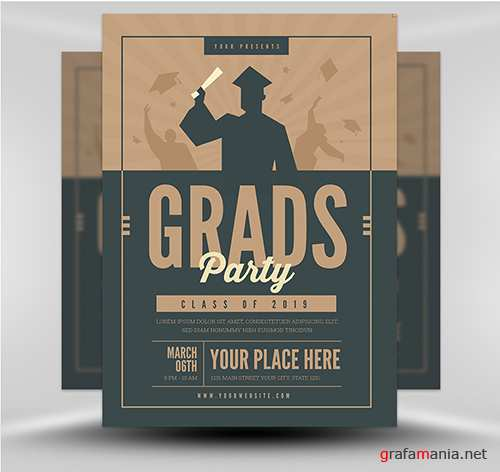 PSD - Graduation Party v5