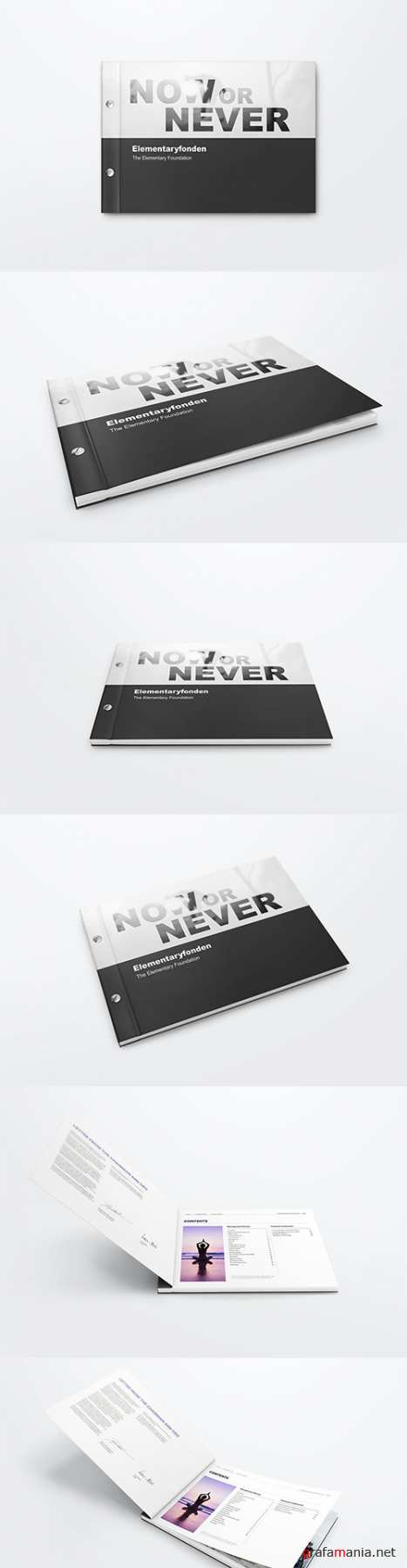 Screw Bound Book Mockups