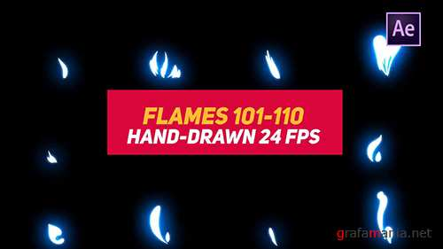 MA - Liquid Elements 2 Flames 101-110 77218