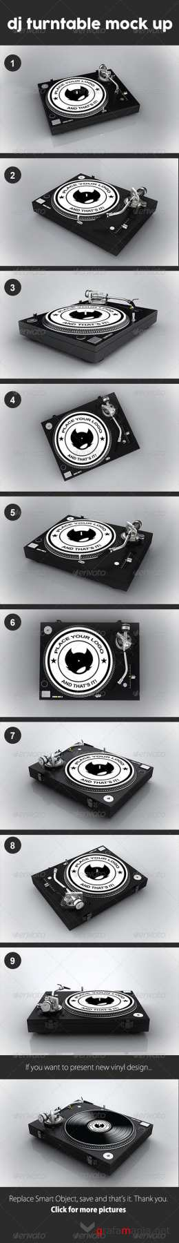 GR - Dj Turntable Mock Up 8492445