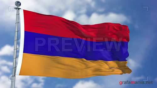 MA - Armenia Flag Animation 73068