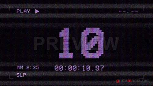 MA - VHS Screen Countdown 81316