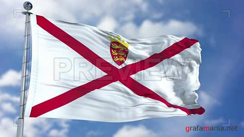 MA - Jersey Flag Animation 73639