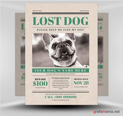 PSD Lost Dog 4
