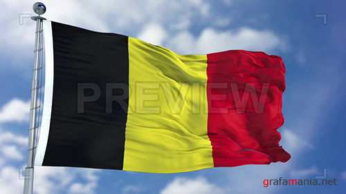 MA - Belgium Flag Animation 73080